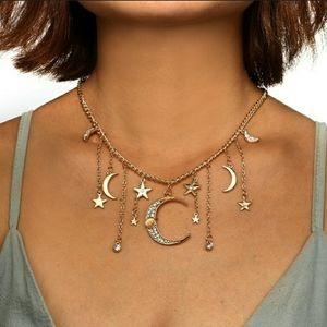Oracle of the Star Map Statement Necklace